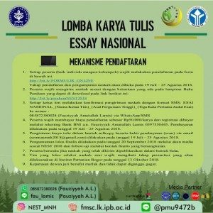 Poster Essay 4 300x300 LOMBA ESAI NASIONAL NEST (National Environomic and Social Talk)